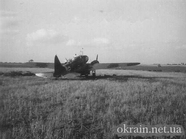 Немецкий самолёт в селе Недогарки - фото 156