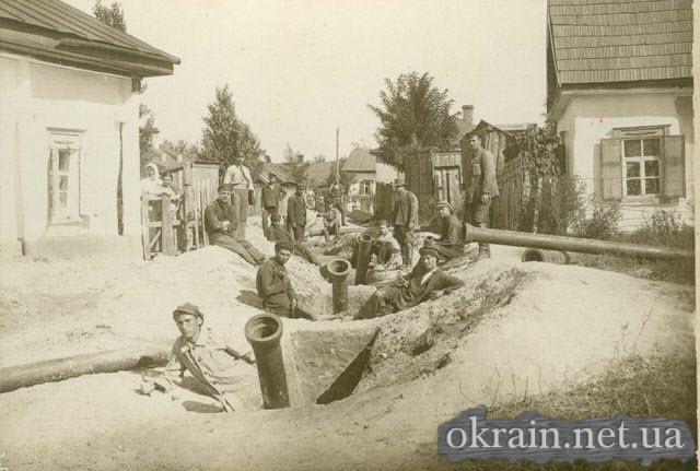 Строительство водопровода на Щемиловке. 1924 год. - фото 234