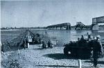Немецкая переправа в районе моста в Кременчуге 1941 год - фото 488