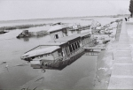 Разрушенная лодочная станция в Кременчуге 1941 год - фото 509
