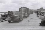 Немецкое фото с переправы в Кременчуге 1941 год - фото 522