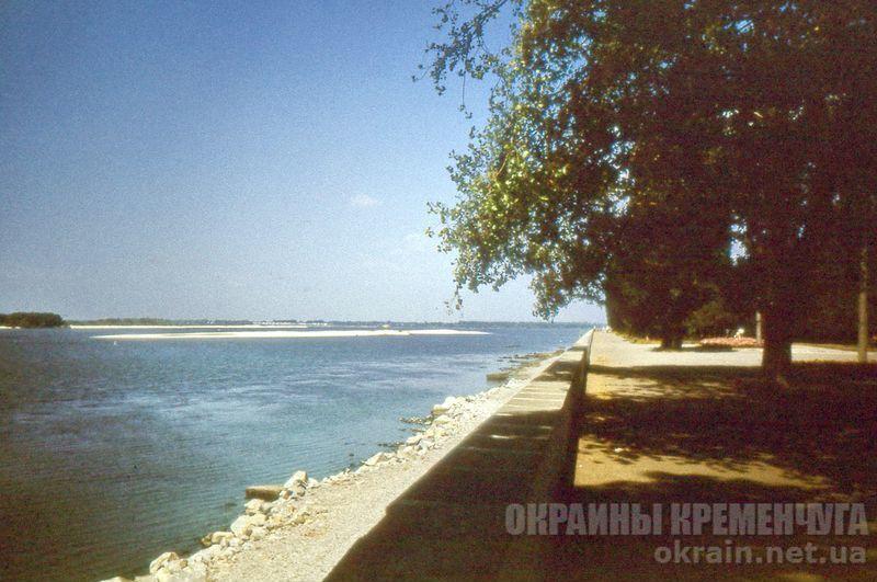 Набережная Днепра 1991 год - фото № 1831