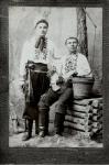 Белоконь Кирилл Макарович с братом - фото 1551