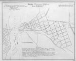 План посада Крюков 1827 год. - карта 180