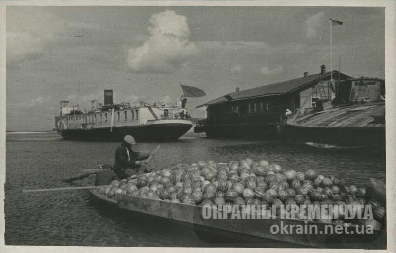Пристань на Днепре в селе Бужин - фото №1677