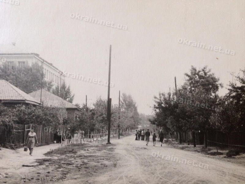 Александрийская улица в Крюкове, слева 23 школа фото 1668