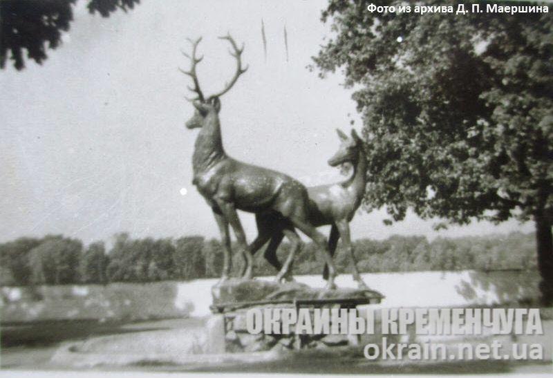 Скульптурная композиция «Олени» — фото №1688