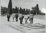 Возложение цветов к мемориалу «Вечно Живым» 1983г - фото 713