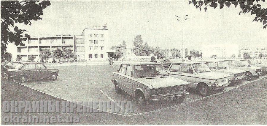 Автомобильная стоянка – фото №1732