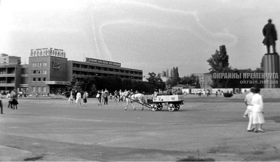 Площадь Победы в Кременчуге 1987 год - фото №1745