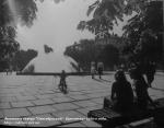 Фонтан в сквере Октябрьский. Кременчуг 1980-е года. - фото 1091