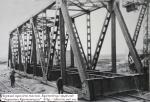 Первый пролёт Крюковского моста. Кременчуг 1948 год. - фото 1053