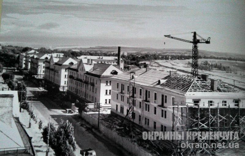 Новые жилые дома по улице Карла Либкнехта в Крюкове 1950-е года - фото №1679