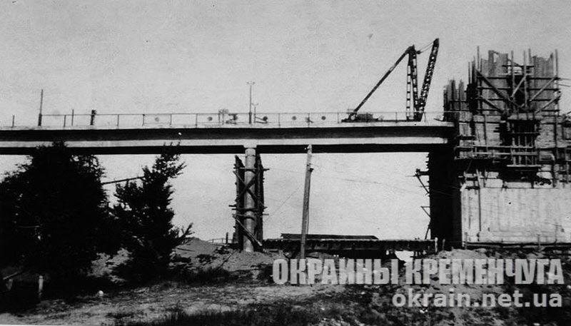 Строительство Крюковского моста в Кременчуге фото 3