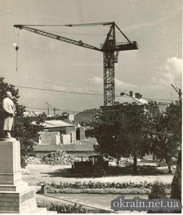 Послевоенная застройка центра города Кременчуга. - фото 355