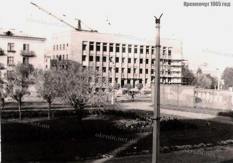 Строительство Горисполкома 1965 год - фото 1563