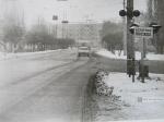 Ул.Халаменюка, переезд возле остановки Дормаш 1972 год - фото 778