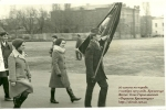 20 школа на параде, 7 ноября 1973 года. Кременчуг - фото 915