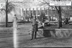 Фонтан в сквере «Октябрьский». Кременчуг 1979 год - фото 1190