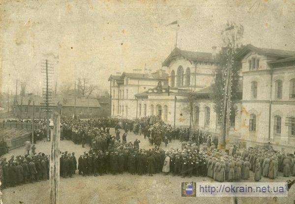 Митинг по поводу смерти Ленина. 21 января 1924 года. - фото 327