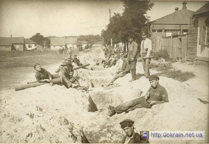 Строительство водопровода на Щемиловке. Сентябрь 1924 года. - фото 348