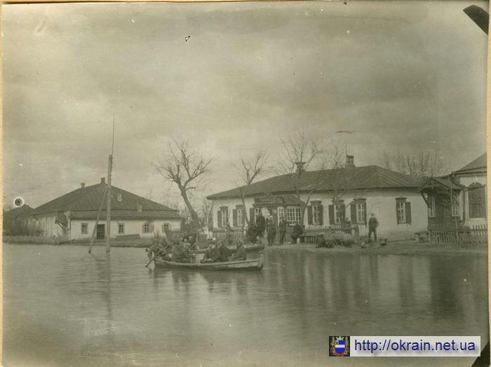 Один из районов Кременчуга во время наводнения 1931 года - фото 469