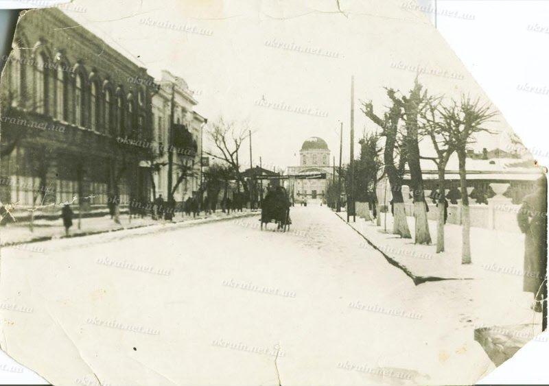 Проспект В.И.Ленина в Кременчуге.1935 год. - фото 245