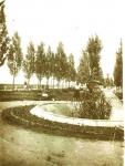 Фонтан и часть набережной в Кременчуге. 1938 год. - фото 244