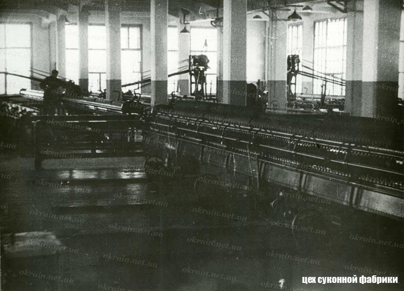 Цех фабрики в Кременчуге