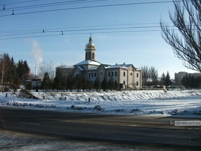 Троицкая церковь в Кременчуге 2010 год
