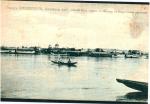Кременчуг. Общий вид с Днепра на пароходные пристани - фото 499