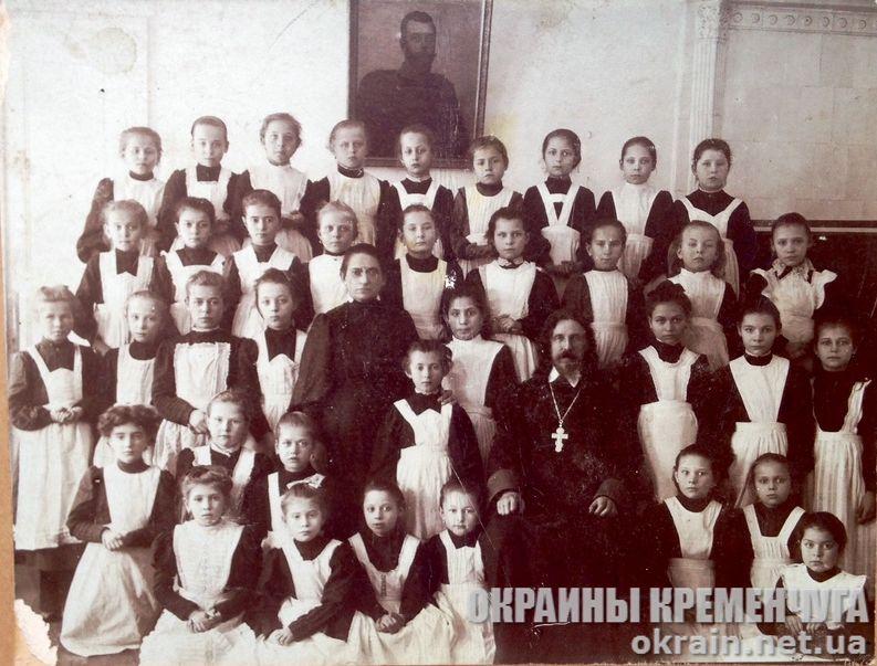 Первый класс женской гимназии Кременчуг 1910 год - фото №1811