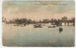Разлив Днепра за насыпью железной дороги - фото 1597
