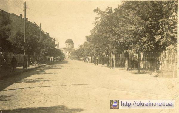 Екатерининская улица в Кременчуге. Вид на Соборную площадь. - фото 269