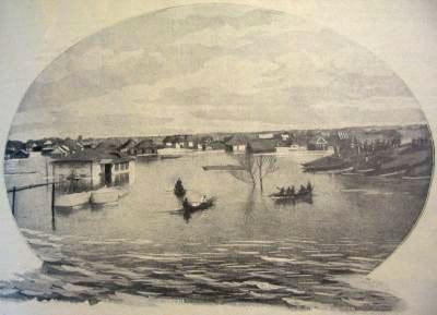 НАВОДНЕНИЕ В КРЕМЕНЧУГЕ, затопившее город на Страс - фото 1