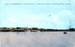 Общий вид города Кременчуга с Днепра на лесные пристани - фото 436