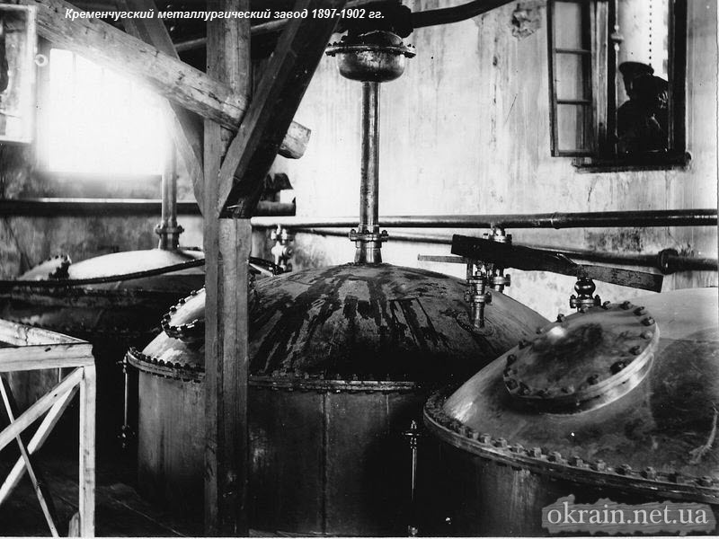 В заводских цехах