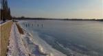 Лед на Днепре Март 2013 года