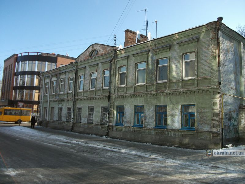 Старое здание в Кременчуге по улице Цюрупы 45/14 - фото 797