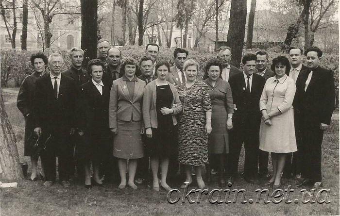 Встреча с подпольщиками в сентябре 1964 года