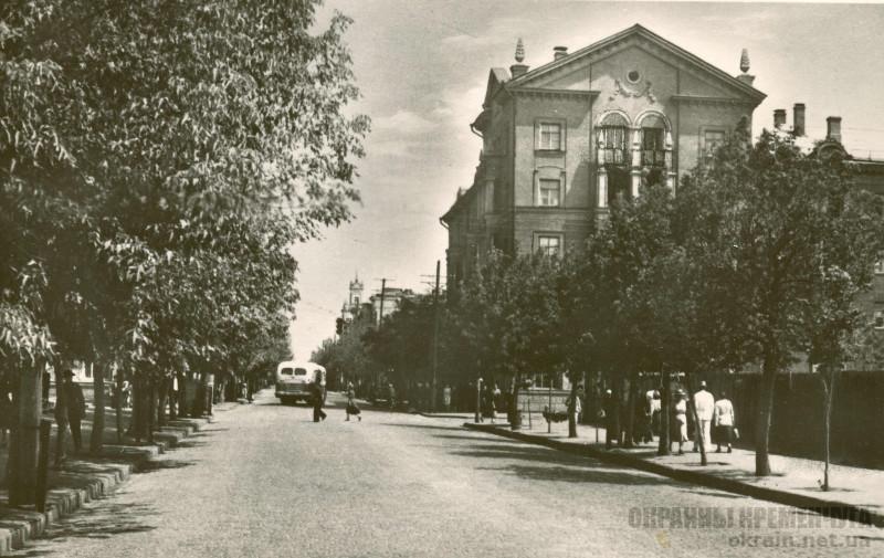 Проспект Ленина Кременчуг 20 октября 1958 года - фото № 414