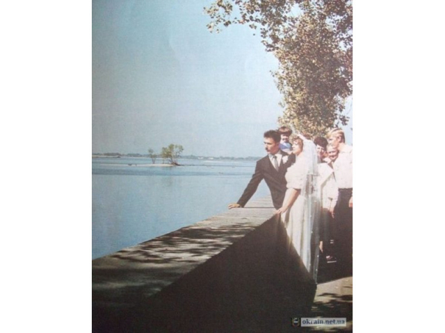 Свадьба на набережной Кременчуг 1985 год - фото № 694