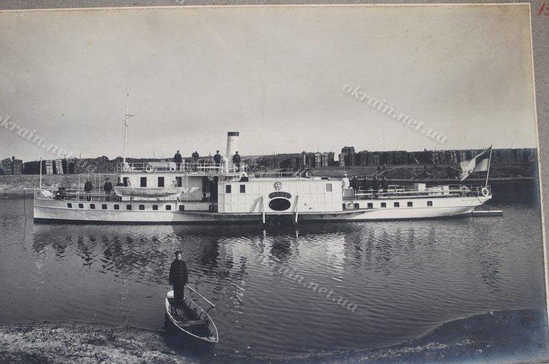 Парове судно «Орша» на Дніпрі 1910-15рр