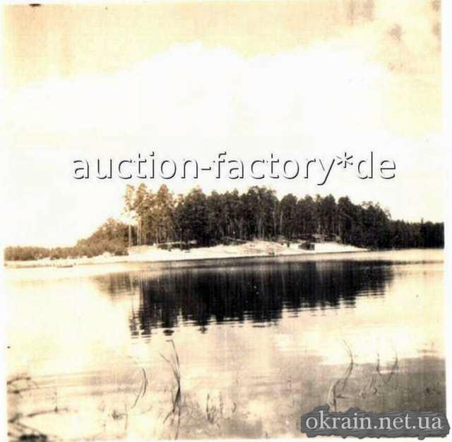Вид с Днепра на Крюков возле моста 1941-1942 год - фото № 71