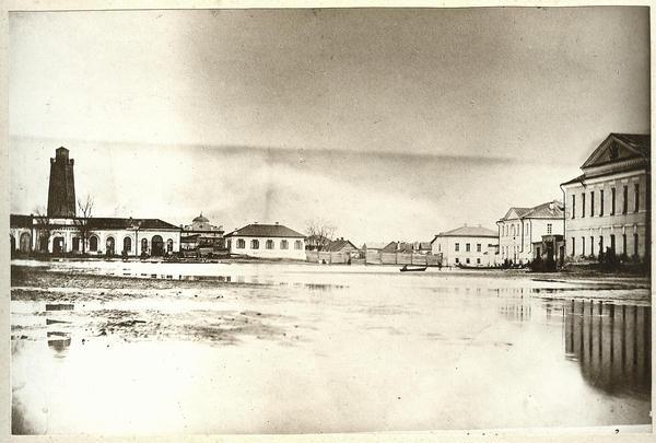 Наводнение 1877 год Вид с современного памятника Борцам за революцию - фото № 162
