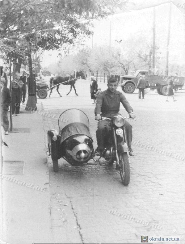 Пересечение улиц Ленина и Пролетарской Кременчуг 1961 год - фото № 134