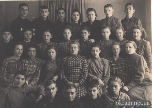 7-й класс школы №10 Кременчуг 1951 год - фото № 216