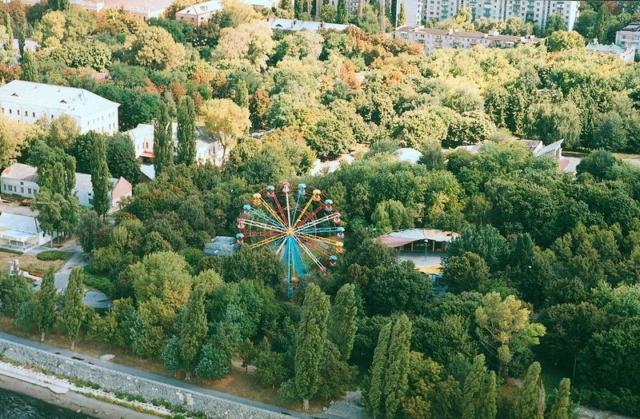 Приднепровский парк Вид с птичьего полёта - фото № 170