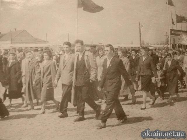 Демонстрация 1 мая 1961 года в Кременчуге - фото № 221