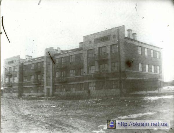 Внешний вид нового дома для железнодорожников 1939 год - фото № 316